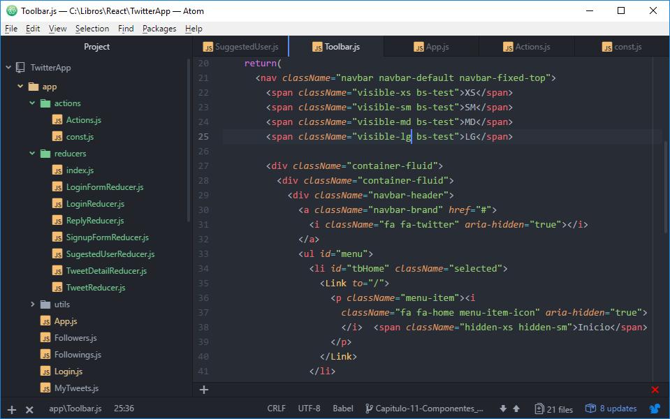ATOM - IDE vs Editor de texto