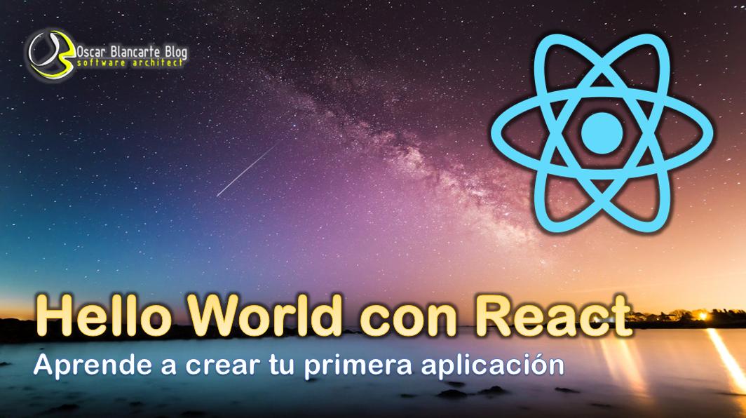 Hello World con React