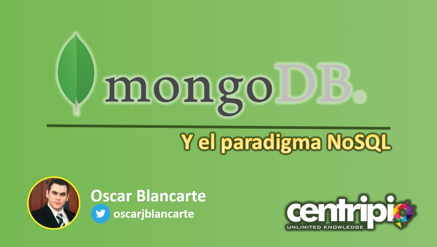 MongoDB y el paradigma NoSQL