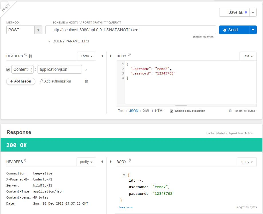 Métodos HTTP POST