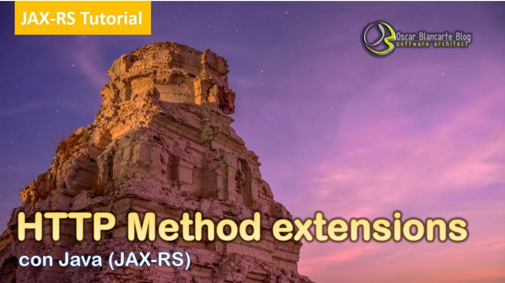 Entendiendo los métodos HTTP (JAX-RS)