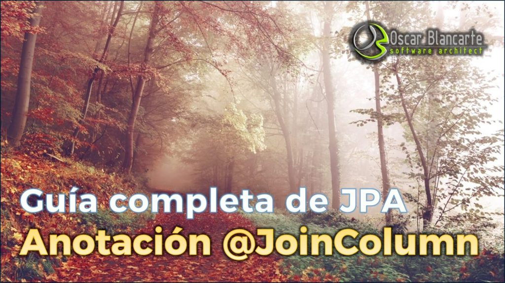 JPA anotación @JoinColumn